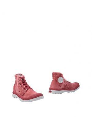 Полусапоги и высокие ботинки PALLADIUM. Цвет: пурпурный