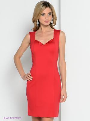 Платье ZAYKINS. Цвет: красный