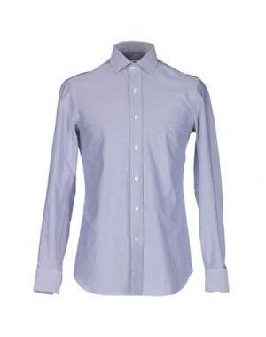 Pубашка SALVATORE PICCOLO. Цвет: серый