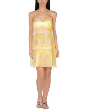 Пляжное платье BLUGIRL BLUMARINE. Цвет: желтый