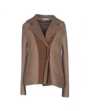 Куртка BRUNO MANETTI. Цвет: песочный