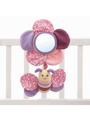 Развивающая игрушка бабочка Little Bird Told Me. Цвет: розовый