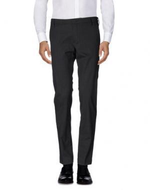 Повседневные брюки ENTRE AMIS. Цвет: свинцово-серый