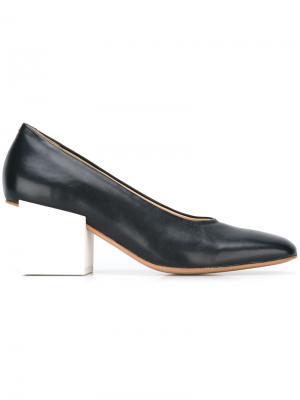 Туфли-лодочки Les Chaussures Arlequin Jacquemus. Цвет: синий