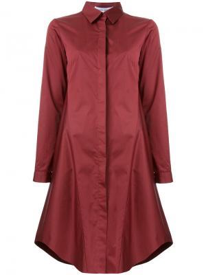 Платье-рубашка Lewis Bianca Spender. Цвет: красный