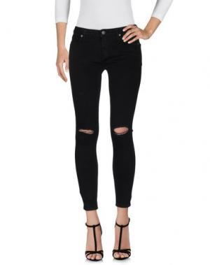 Джинсовые брюки SCOUT. Цвет: черный