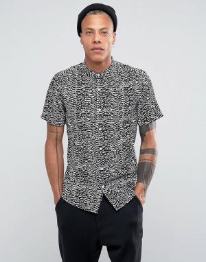 Systvm Рубашка с отложным воротником Rita. Цвет: черный