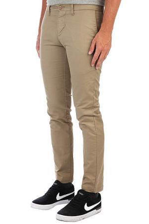 Штаны широкие  Fubar Big Fits Cargo Pants Desert Camo Obey. Цвет: бежевый,зеленый,коричневый