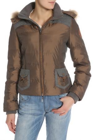 Куртка Daniel Hechter. Цвет: коричневый