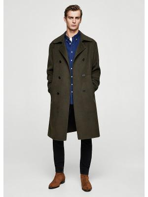 Пальто - GRANITO MANGO MAN. Цвет: хаки
