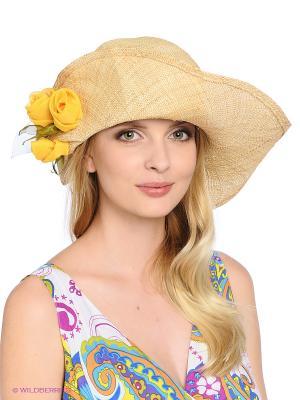 Шляпа Maxval. Цвет: бежевый, персиковый, светло-бежевый
