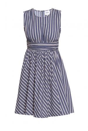 Платье из хлопка 184670 Anna Rita N. Цвет: разноцветный