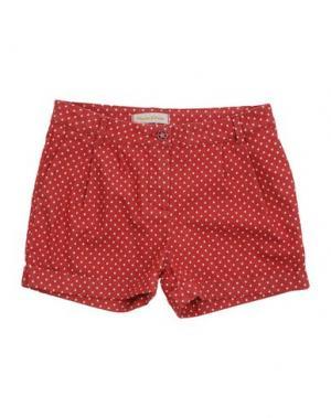 Джинсовые шорты MANILA GRACE. Цвет: кирпично-красный