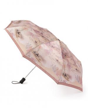 Зонт aвтомат Путешествие Henry Backer. Цвет: бежевый