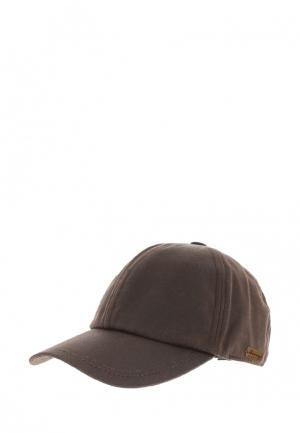 Бейсболка Herman. Цвет: коричневый