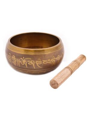 Сувенир Поющая чаша ГАНГ. Цвет: бронзовый