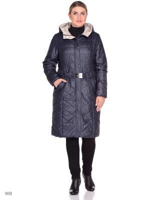 Пальто CATTAIL WILLOW. Цвет: синий