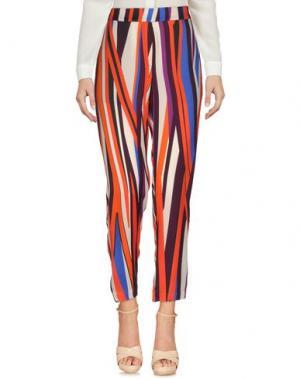 Повседневные брюки ATTIC AND BARN. Цвет: красный