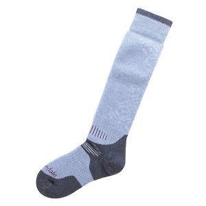 Носки сноубордические женские  All Mountain Cloud/Grey Bridgedale. Цвет: голубой,серый