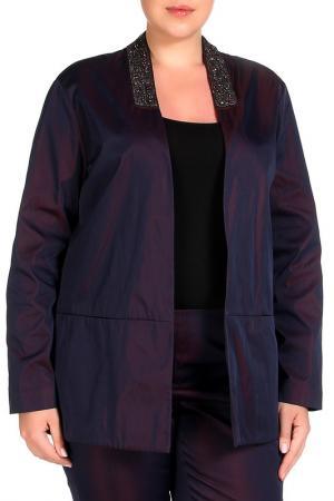 Пиджак Elena Miro. Цвет: фиолетовый