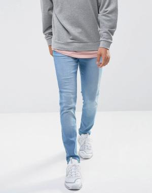 Waven Синие джинсы скинни Verner. Цвет: синий