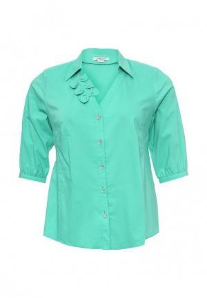 Блуза Silver String. Цвет: бирюзовый