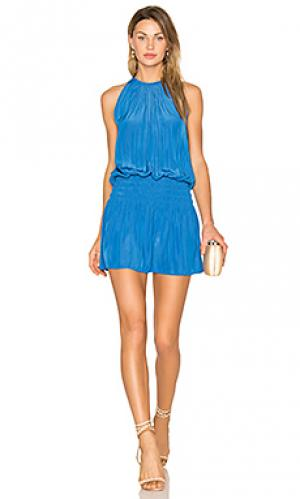 Платье без рукавов paris RAMY BROOK. Цвет: синий