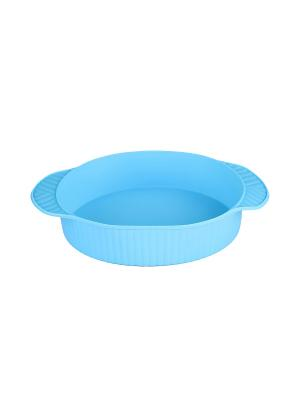Форма для запекания круглая 23 см. (синяя) PATRICIA. Цвет: синий