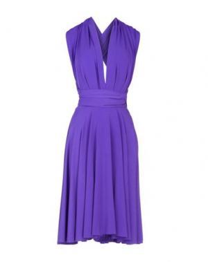 Короткое платье VON VONNI. Цвет: розовато-лиловый