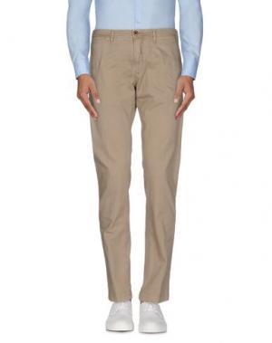 Повседневные брюки SIVIGLIA WHITE. Цвет: бежевый