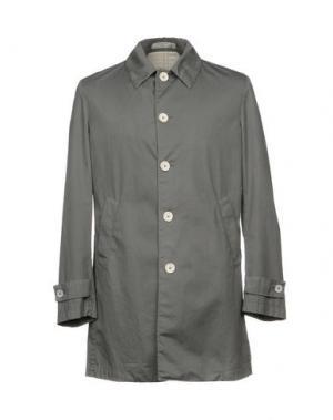 Легкое пальто MANUEL RITZ WHITE. Цвет: серый