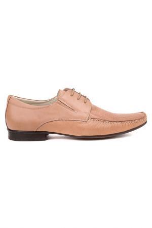 Туфли Loiter. Цвет: светло-коричневый