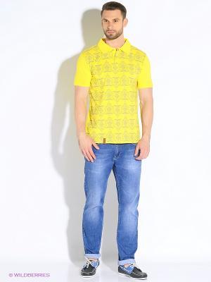 Футболка-поло D.S. Цвет: желтый