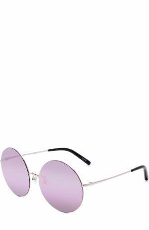 Солнцезащитные очки Matthew Williamson. Цвет: фиолетовый