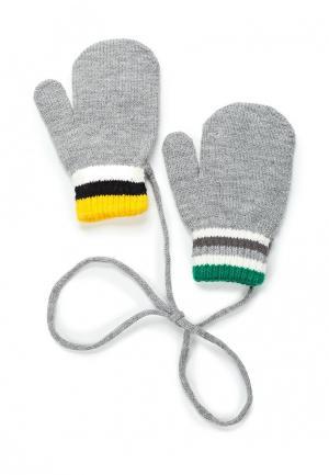 Варежки United Colors of Benetton. Цвет: серый
