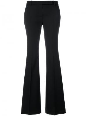 Расклешенные брюки Alexander McQueen. Цвет: чёрный