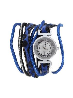Браслет-часы Olere. Цвет: серебристый, синий, черный