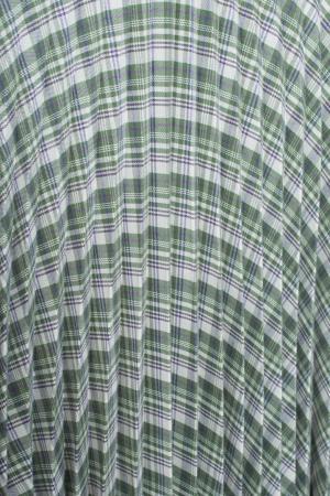 Платье в клетку Alexander Terekhov. Цвет: зеленый