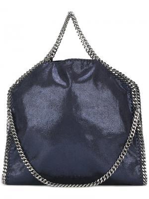 Большая сумка-тоут Falabella Stella McCartney. Цвет: синий