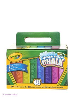 Мел для рисования на асфальте Crayola. Цвет: зеленый