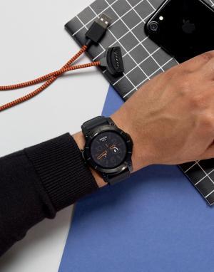 Nixon Черные смарт-часы Mission. Цвет: черный