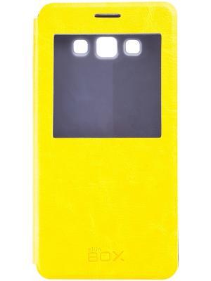Samsung A700 Galaxy A7 skinBOX Lux AW. Цвет: желтый