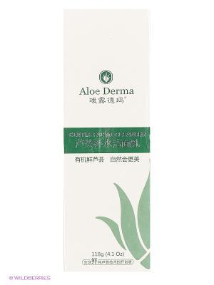 Лосьон для умывания Aloe Derma. Цвет: белый