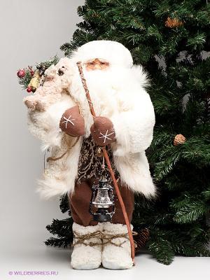 Фигурка Дед Мороз MAXITOYS. Цвет: светло-коричневый, белый
