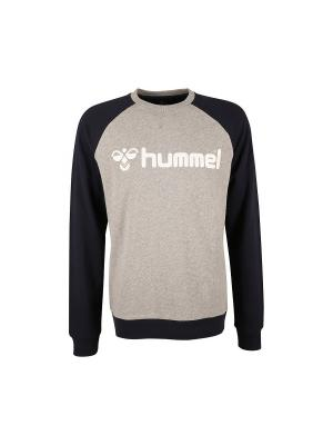 Свитшот HUMMEL. Цвет: синий, бежевый