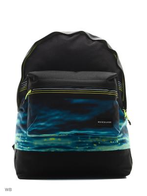 Рюкзак Quiksilver. Цвет: черный, морская волна, синий