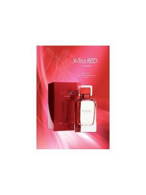Парфюмированная вода XTRA RED EDP WOMEN LOUIS VAREL. Цвет: прозрачный
