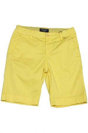Бермуды ASTON MARTIN. Цвет: желтый