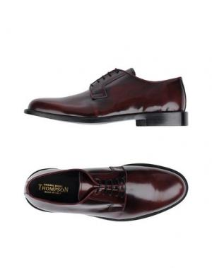 Обувь на шнурках THOMPSON. Цвет: красно-коричневый