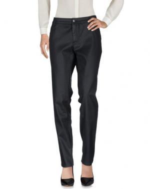 Повседневные брюки XANDRES. Цвет: стальной серый